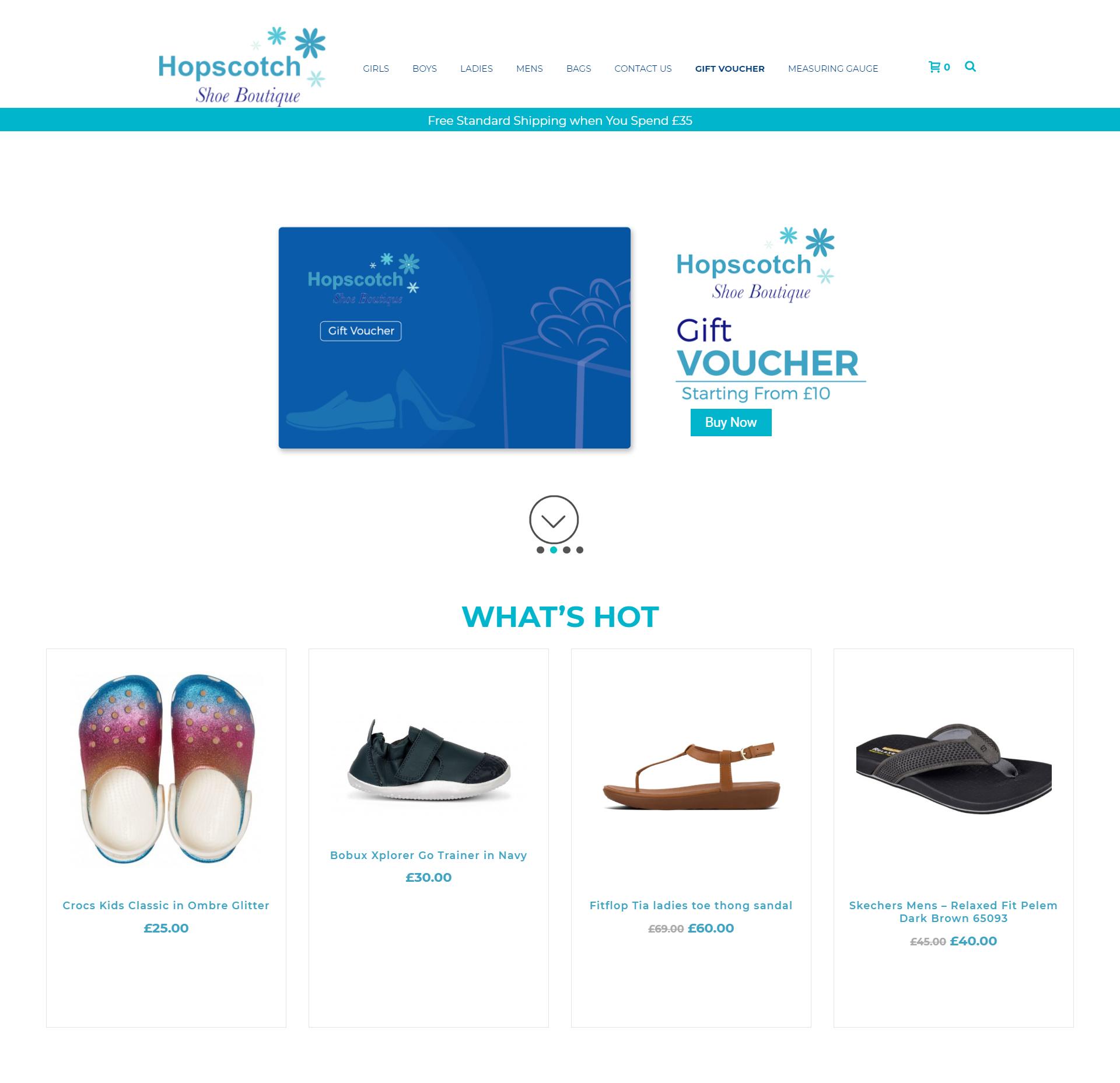 Hopscotch Shoe Boutique