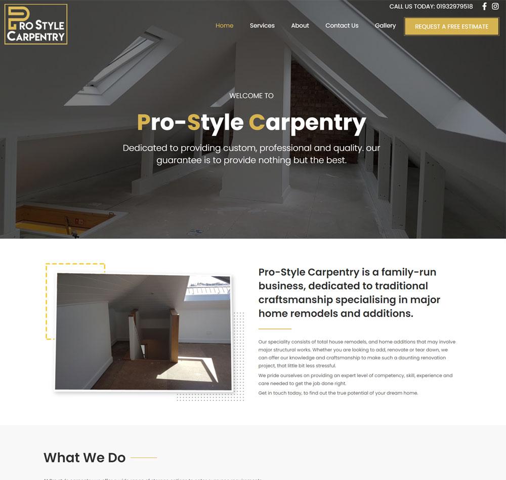 Pro Style Carpentry